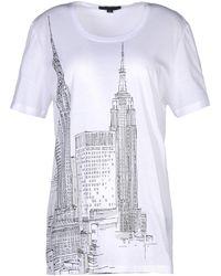 Burberry Prorsum Short Sleeve T-Shirt - Lyst