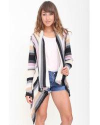 Goddis Liv Drape Sweater multicolor - Lyst