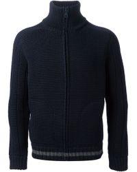 Gucci Chunky Knit Cardigan - Blue