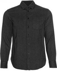 Rag & Bone | gray Herringbone Beach Shirt | Lyst