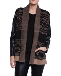 Twelfth Street by Cynthia Vincent Log Cabin Sweater - Lyst