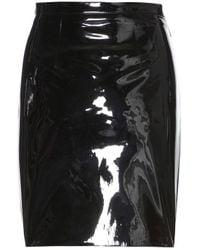 Christopher Kane Patent Leather Skirt - Lyst
