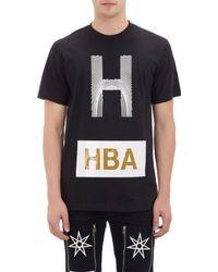 Hood By Air H Fingerprint T-shirt - Lyst