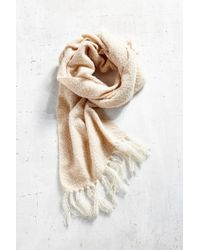 Urban Outfitters - Brushed Plaid Blanket Scarf - Lyst