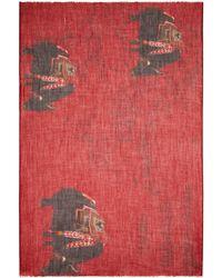 Meesha - Merino Wool Buffalo Scarf - Lyst