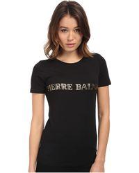 Balmain Logo T-Shirt - Lyst