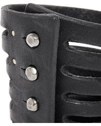 Rick Owens - Half Megga Naked Leather Cuff - Lyst