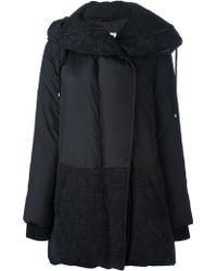 Isola Marras - Quilted Jacquard Coat - Lyst