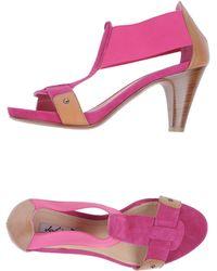 Julie Dee Platform Sandals - Lyst