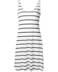 Alice + Olivia Striped Dress - Lyst