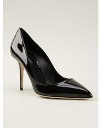 Dolce & Gabbana Black Kate Pumps - Lyst