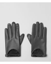 AllSaints - Chainy Gloves - Lyst