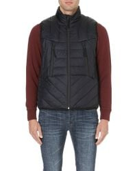 Paul Smith Quilted Down-filled Gilet - Lyst