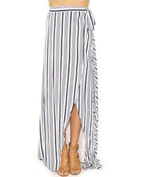 The Jetset Diaries | Her Allies Skirt In Stripe | Lyst