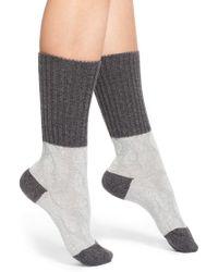 Pantherella | 'chloe' Cable Knit Socks | Lyst