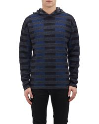 Alexander Wang Hooded Baja Pullover Sweater - Lyst