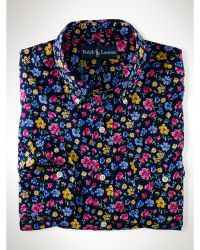 Polo Ralph Lauren Custom-fit Floral Sport Shirt - Lyst