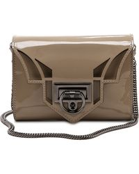 Reece Hudson - Rider Mini Bag Taupe - Lyst