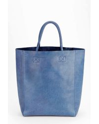BDG - Tumbled Leather Tote Bag - Lyst