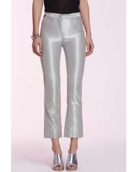 Chanel | Vintage Odile Metallic Trousers | Lyst