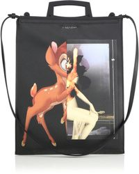 Givenchy   Rave Medium Faux-leather Bambi Tote   Lyst