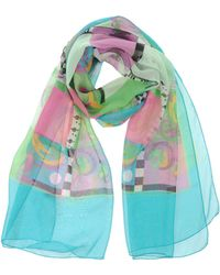 Versace Square Scarf - Lyst