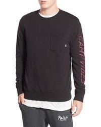Poler Stuff - 'camp Vibes' Long Sleeve Graphic Pocket T-shirt - Lyst