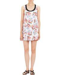Emanuel Ungaro Floral Sleeveless Dress - Lyst