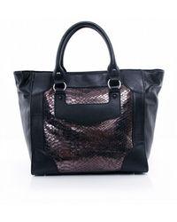 Sam Edelman Porter Luggage Tote Bag blue - Lyst