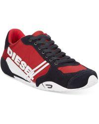 Diesel Harold Solar Nylon Sneakers - Lyst