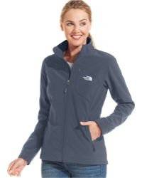 The North Face Apex Bionic Soft-Shell Jacket blue - Lyst