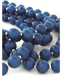 Zad Fashion Inc. - You Bijou Necklace in Sapphire - Lyst