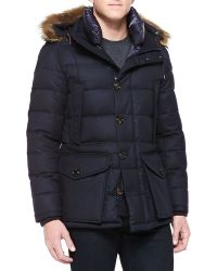 Moncler Affton Quilted-down Jacket