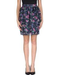 Carven Knee Length Skirt - Lyst