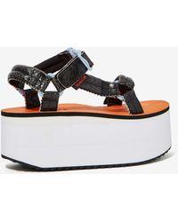 Nasty Gal X Teva Walk On Flatform Sandal - Lyst