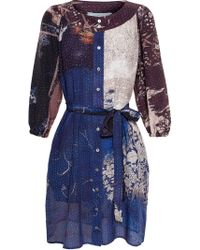 By Walid Loulou Print Tunic - Blue