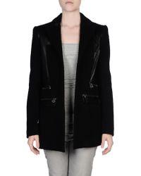 Balmain Jacket black - Lyst