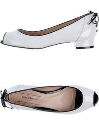 Giorgio Fabiani Ballet Flats - Lyst