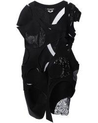 Junya Watanabe Appliqué Patchwork Dress - Lyst