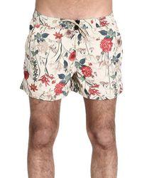 Peuterey Floral Beachwear Man - Lyst