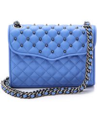 Rebecca Minkoff - Quilted Mini Affair with Studs Pale Pink - Lyst