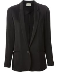 Forte Forte Notched Lapel Blazer - Lyst