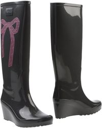 RED Valentino Boots - Gray