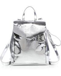 Loeffler Randall - Mini Metallic Backpack - Lyst