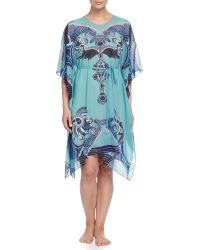 Meng - Zod Printed Silk Tunic - Lyst