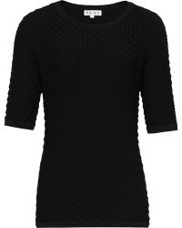 Reiss Orchid Scallop Textured Top - Lyst