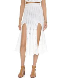 Alice McCALL Higher Ground Skirt - White