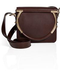 Ferragamo Leather Micole Shoulder Bag - Lyst