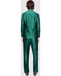 Gucci - Bee Jacquard Pajama Pant - Lyst