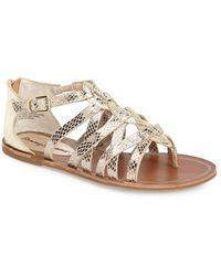 Tommy Bahama 'halina' Sandal - Metallic